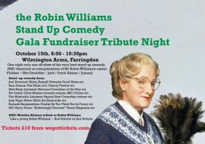 The Robin Williams Stand-Up Comedy Gala Tribute Fundraiser Night