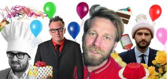 Tony Law, Stewart Lee, Ben Target, John Kearns