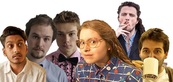 Jessie Cave, Hill and Weedon, Alfie Brown, Ahir Shah & Adam Larter