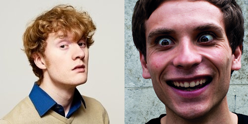 James Acaster and Daniel Simonsen