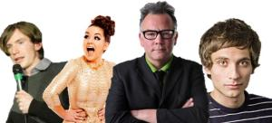 Stewart Lee, Daniel Simonsen, Holly Burn and Philip O'Shea