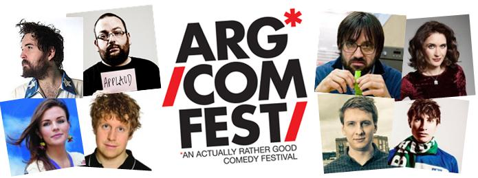 ARGComFest (An Actually Rather Good Comedy Festival)