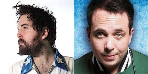 Nick Helm and Abandoman
