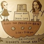 Jessie Cave and Jenny Bede
