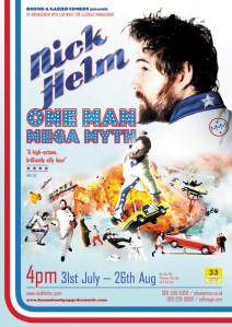 Nick Helm One Man Mega Myth