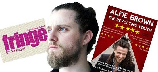 Alfie Brown Edinburgh Fringe Interview