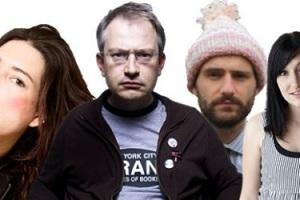 Robin Ince, Celia Pacquola, Ben Target & Lou Sanders