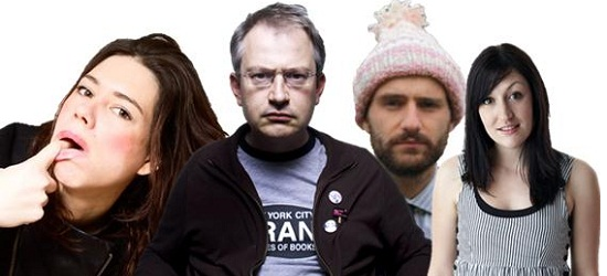 Robin Ince, Celia Pacquola, Ben Target & Lou Sanders