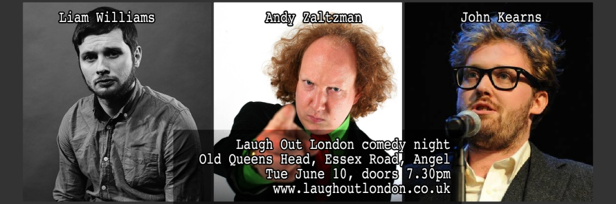 Laugh Out London comedy night in Angel