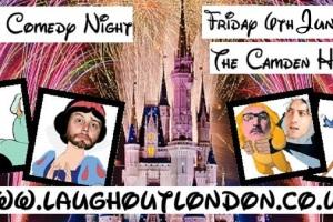 Disney comedy night in Camden