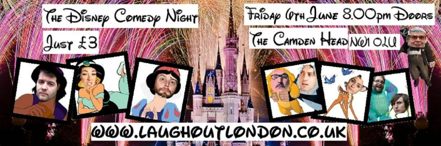 Disney comedy night in Camden
