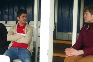 James Acaster impresses some Kettering Town fans