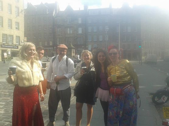 Joz Norris Edinburgh Fringe Blog clowns