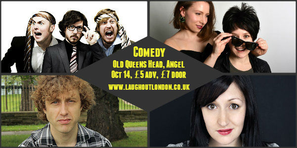Pappys comedy islington october 14
