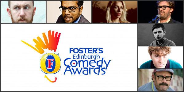 fosters comedy awards nominations edinburgh 2014