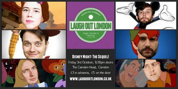 disney comedy night