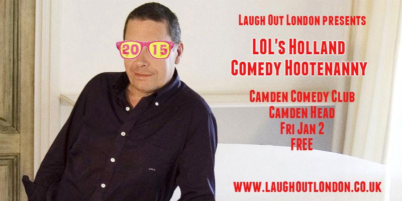 comedy hootenanny camden jan 2