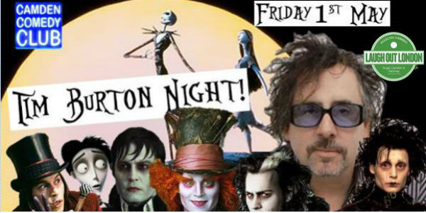 tim burton website