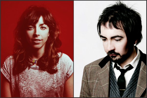 Bridget Christie and Stephen Carlin billetto