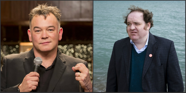 7th July: Stewart Lee and Edward Aczel