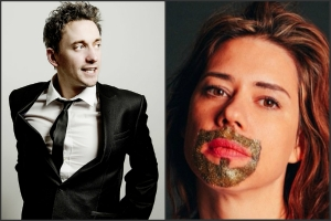 John Robins and Lou Sanders