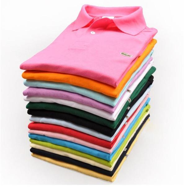 polo shirt pile