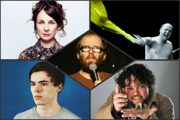 Angel 12th Jan Daniel Kitson cariad lloyd rhys james tom parry