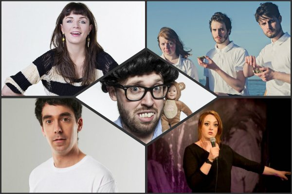 Brixton 19 january laugh out london john kearns adam hess fern brady geins family giftshop Aisling Bea