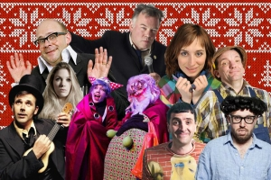 Shelter Laugh Out London Stewart lee Harry Hill John Kearns isy suttie Rob newman small