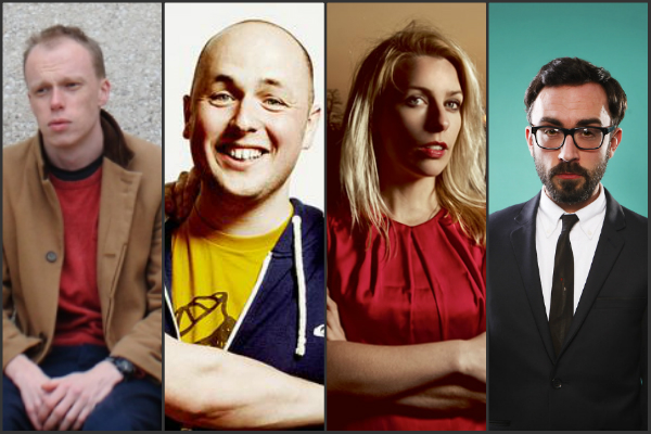 rixton 16 Feb 2016 Sara Pascoe Jordan Brookes Tom Parry Tom Webb Laugh Out London Comedy club