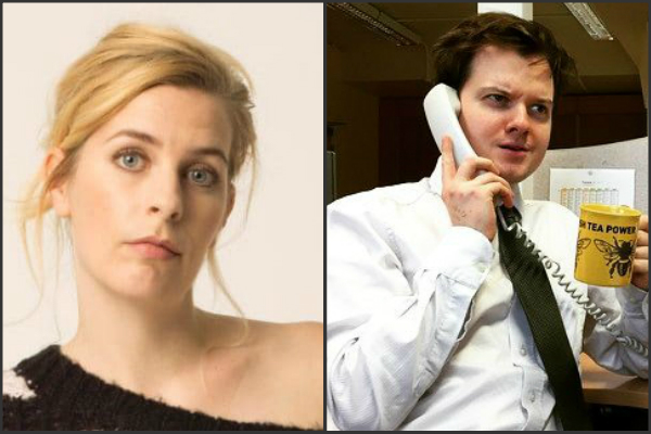 Sara pascoe and Andy barr