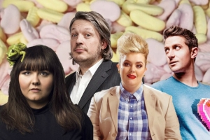 22 July Laugh Out London Comedy Festival Richard herring sofie hagen stuart goldsmith jayde adams