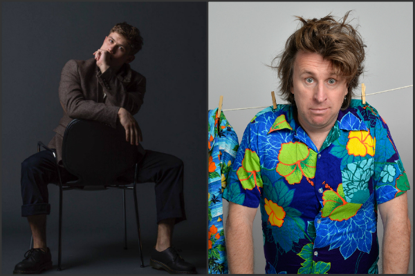 Milton Jones Jon Pointing laugh out london comedy club