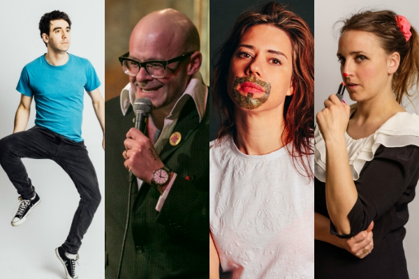 Laugh Out London Islington comedy club harry hill adam hess lou sanders web