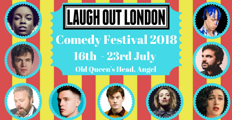 Laugh Out London Comedy festival 2018 acts image (3)