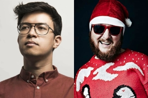 laugh out london 3rd december xmas tim key phil wang